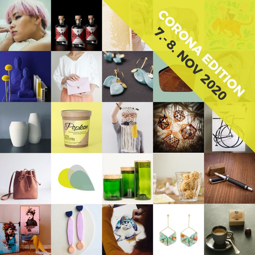 hello handmade Markt 2020 Corona Edition 7.-8. November